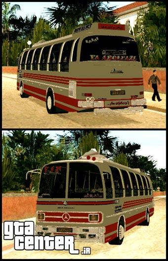 اتوبوس بنز 302 برای جی تی آی